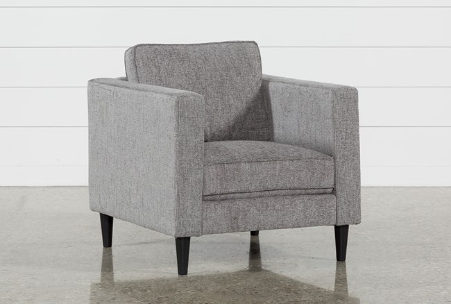 Cosmos Grey Chair - 360