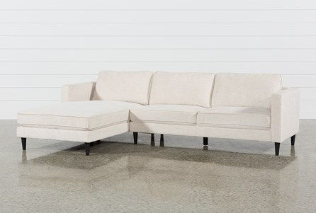 Cosmos Natural 2 Piece Sectional W/Laf Chaise