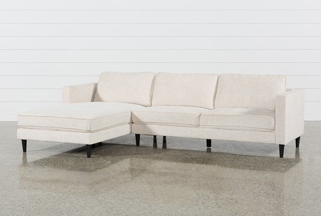 Cosmos Natural 2 Piece Sectional W/Laf Chaise - 360