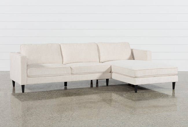 Cosmos Natural 2 Piece Sectional W/Raf Chaise - 360