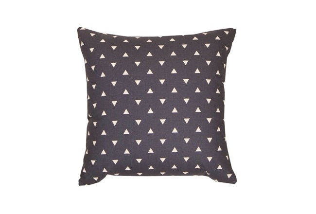 Accent Pillow-Youth Geometric-Navy Triangle 18X18 - 360