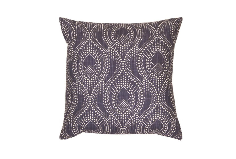 Accent Pillow-Boho Henna Navy 18X18