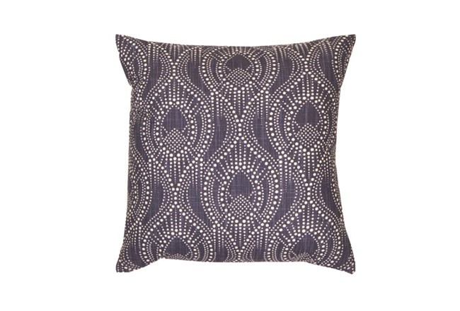 Accent Pillow-Boho Henna Navy 18X18 - 360