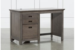 "Owen Grey 48"" Desk With USB"