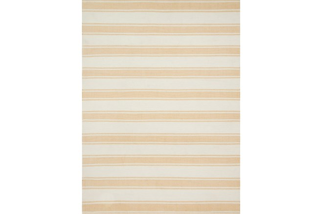 93X117 Rug-Magnolia Home Carter Ivory/Gold By Joanna Gaines - 360