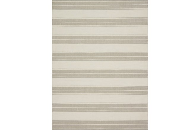 93X117 Rug-Magnolia Home Carter Ivory/Khaki By Joanna Gaines - 360