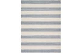 93X117 Rug-Magnolia Home Carter Ivory/Navy By Joanna Gaines