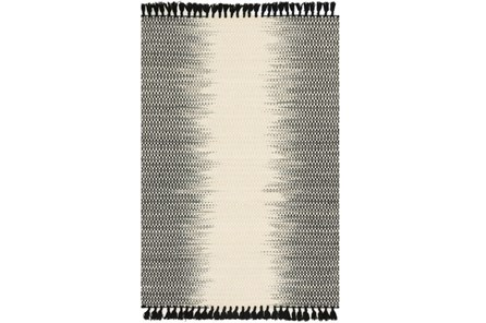 93X117 Rug-Magnolia Home Chantilly Ivory/Black By Joanna Gaines - Main