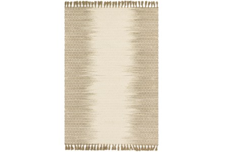 93X117 Rug-Magnolia Home Chantilly Ivory/Olive By Joanna Gaines