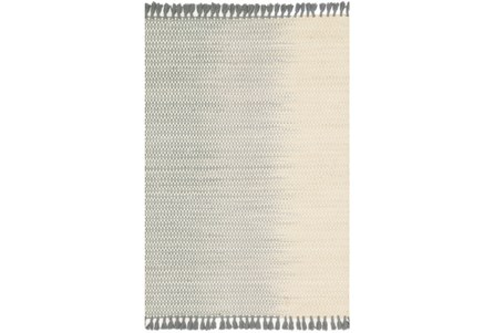 93X117 Rug-Magnolia Home Chantilly Ivory/Mist By Joanna Gaines