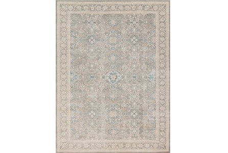 94X126 Rug-Magnolia Home Ella Rose Steel/Steel By Joanna Gaines