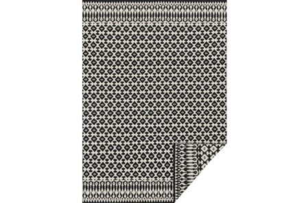 93X117 Rug-Magnolia Home Emmie Kay Ivory/Black By Joanna Gaines - Main