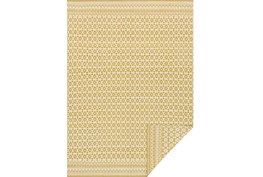 93X117 Rug-Magnolia Home Emmie Kay Ivory/Maize By Joanna Gaines