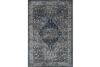 """5'3""""x7'7"""" Rug-Magnolia Home Everly Grey/Midnight By Joanna Gaines"""