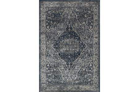 63X92 Rug-Magnolia Home Everly Grey/Midnight By Joanna Gaines