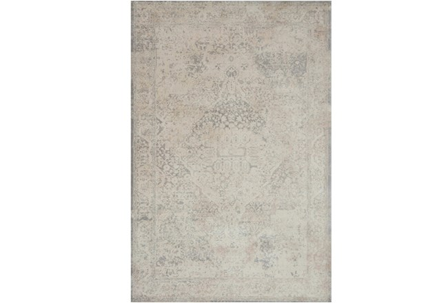 94X130 Rug-Magnolia Home Everly Ivory/Ivory By Joanna Gaines - 360