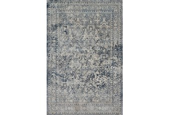 63X92 Rug-Magnolia Home Everly Slate/Slate By Joanna Gaines