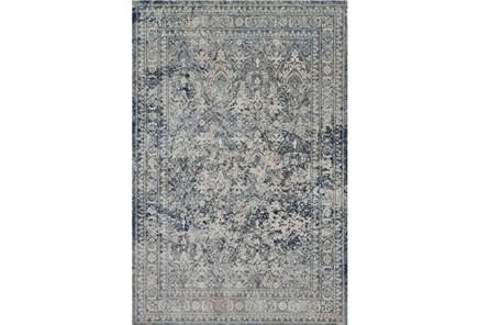 63X92 Rug-Magnolia Home Everly Slate/Slate By Joanna Gaines