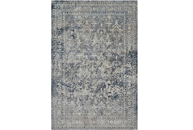 """5'3""""x7'7"""" Rug-Magnolia Home Everly Slate/Slate By Joanna Gaines - 360"""
