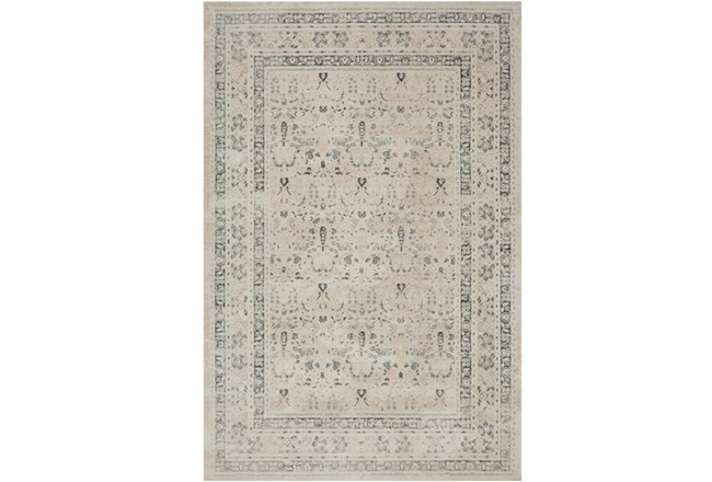 63X92 Rug-Magnolia Home Everly Ivory/Sand By Joanna Gaines - 360