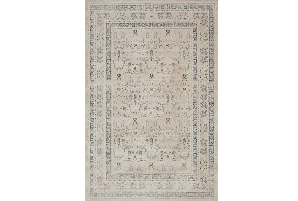 94X130 Rug-Magnolia Home Everly Ivory/Sand By Joanna Gaines