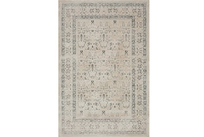 94X130 Rug-Magnolia Home Everly Ivory/Sand By Joanna Gaines - 360