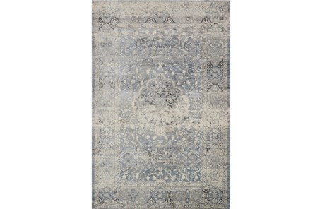 63X92 Rug-Magnolia Home Everly Mist/Mist By Joanna Gaines