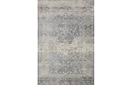 94X130 Rug-Magnolia Home Everly Mist/Mist By Joanna Gaines