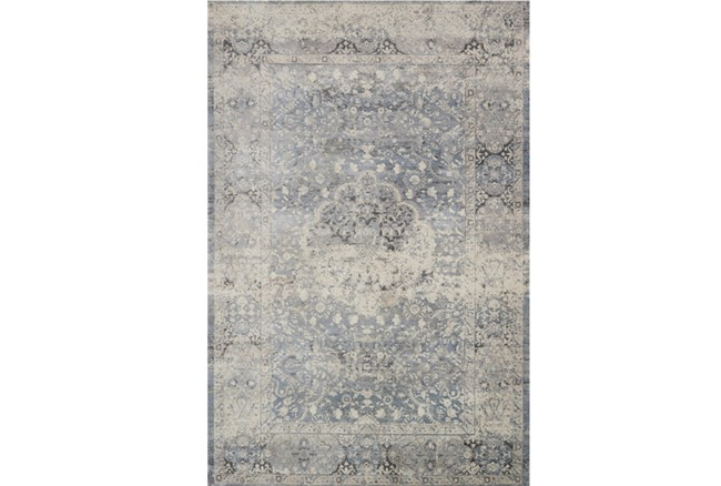 94X130 Rug-Magnolia Home Everly Mist/Mist By Joanna Gaines - 360
