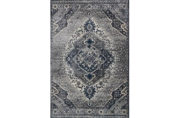 """5'3""""x7'7"""" Rug-Magnolia Home Everly Silver/Grey By Joanna Gaines"""