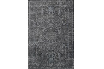 63X92 Rug-Magnolia Home Everly Grey/Grey By Joanna Gaines