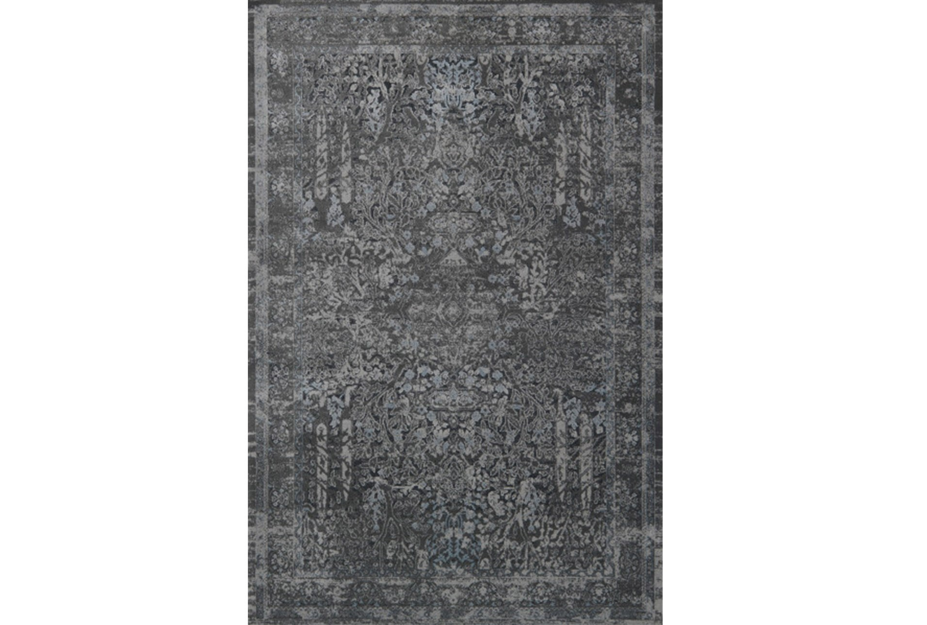 94x130 Rug Magnolia Home Everly Grey Grey By Joanna Gaines