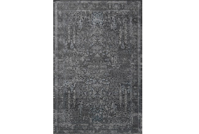 94X130 Rug-Magnolia Home Everly Grey/Grey By Joanna Gaines - 360