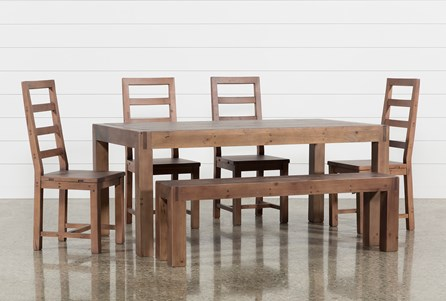 Crawford 6 Piece Rectangle Dining Set