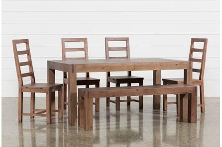 Crawford 6 Piece Rectangle Dining Set - Main