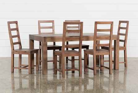 Crawford 7 Piece Rectangle Dining Set