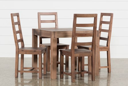 Crawford 5 Piece Square Dining Set