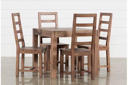 Crawford 5 Piece Square Dining Set - Main