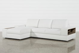Larimar Stone 2 Piece Sectional W/Laf Chaise & Usb