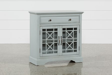 Annabelle Earl Grey Accent Chest
