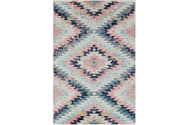 63X87 Youth Rug-Wonderland Aztec Pink/Blue - 360
