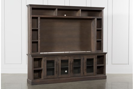 Wakefield 2 Piece Wall Entertainment Center - Main