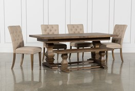 Parquet 6 Piece Dining Set