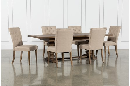 Parquet 7 Piece Dining Set - Main