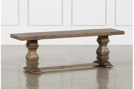 Parquet Dining Bench - Main