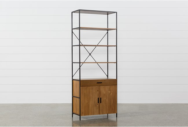 Hollis 84 Inch Wide Cabinet Pier - 360