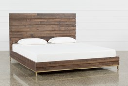 Crawford California King Platform Bed