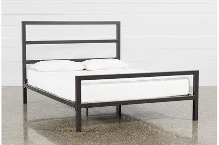 Orson Graphite Full Panel Bed