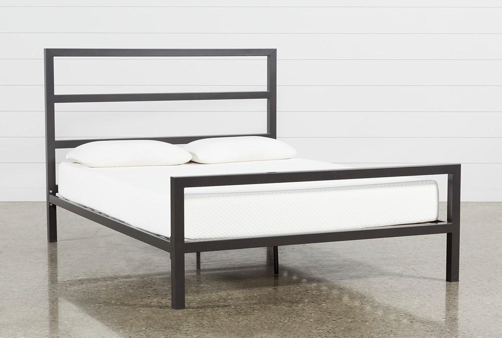 Orson Graphite Queen Panel Bed