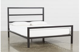 Orson Graphite Eastern King Panel Bed